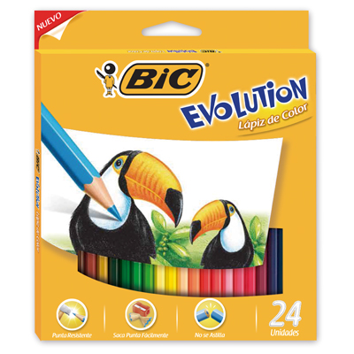 Original Evolution Color x24 + 2 grafitos